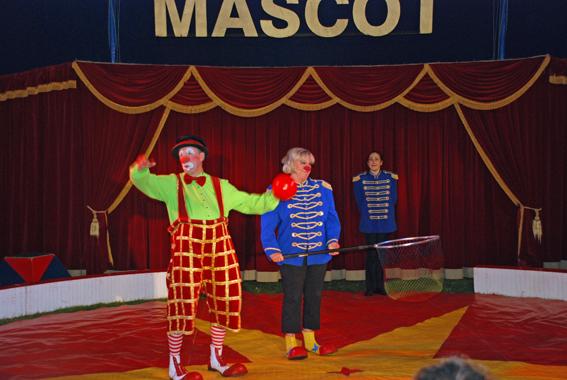 Trumpen domptor leder cirkusen